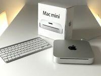 Mac mini 2.4 GHz Intel Core Duo 8GB NVIDIA Geforce 320M 256MB 320GB with wireless keyboard