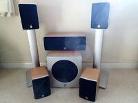 Q Acoustics 1010 5.1 Surround Sound System
