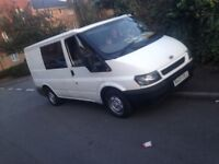 Ford transit van with Windows on side seats in back cheap van needs space quick sale bargain