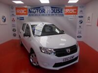 Dacia Sandero AMBIANCE (FREE MOT'S AS LONG AS YOU OWN THE CAR!!!) (white) 2013