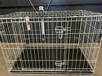 Pets at Home dog crate medium grey