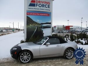 2007 Mazda MX-5 GX Convertible, Leather Seats, Cruise Control