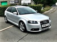 2008 Audi A3 2.0 TDI S line 3dr, Finance available, AA Approved