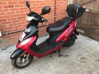 50cc scooter moped with mot