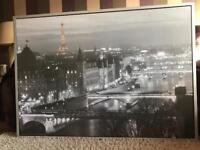 Ikea Framed Picture of Paris
