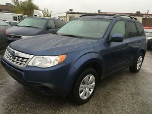 2012 Subaru Forester X,AWD,ALLOY RIMS,ROOF RACK