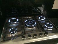 5 burner Gas hob