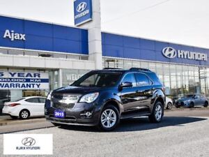 2015 Chevrolet Equinox 2LT|Leather|AWD|Power Tailgate|Low Kms!