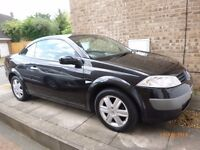 2005 Renault Megane 2.0 Dynamique Convertible. Great value at less than £1000.00