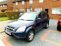 2003 HONDA CRV AUTOMATIC 2.0 FULLY LOADED LEATHER SUNROOF £1399 BARGAIN
