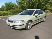 Renault Laguna + 2003 + comprehensive SERVICE HISTORY + ALLOY WHEELS