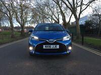 2016 Toyota Yaris 1.5 Hybrid Excel CVT 5dr | Automatic | Sat Nav | Hpi Clear | Revers Camera | Yaris