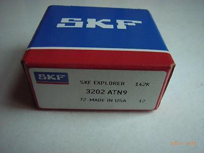 1x SKF - Schrägkugellager 3202.ATN9 , 15x35x15,9 mm