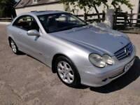 2002 MERCEDEDS CLK 240 ELEGANCE 2.6 V6 AUTOMATIC