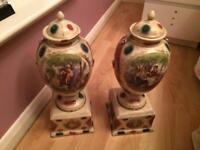 2 German Vases