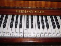 upright piano by hermann mayr --summer sale price--