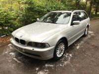 BMW 530i Touring 12 Months MOT Fantastic History and High Spec E39