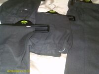 4 prs boys school trousers teflon coated so dont mark 4/5 yrs 4 prs for 3.00