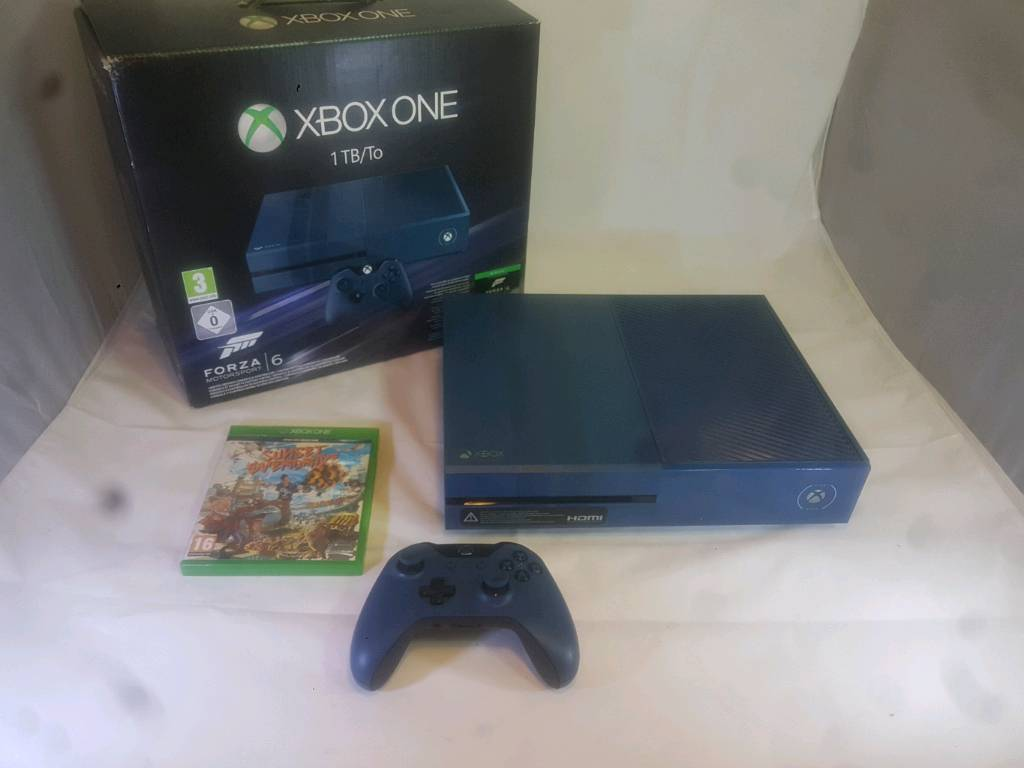Xbox one 1tb froza speicial edition