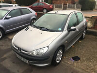 2005*PEUGEOT 206 S 1.1 PETROL*FULL SERVICE*CAMBELT CHANGED*8 MONTHS MOT*IDEAL FIRST CAR