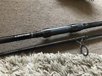 Wychwood Signature Carp Fishing Rod 12ft 3lb 2 Piece - Mint Great Fishing Rods