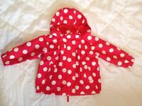 Light Girls Coat size 18-24monts