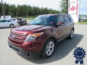 2015 Ford Explorer Limited 7 Passenger, 3.5L V6, Backup Camera
