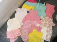 Girls bundles holiday summer clothes 2-3 Years dresses outfits shirts tops some new with tag