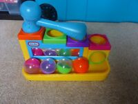 Little Tykes Hammer and Ball Set baby toddler toy