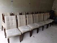 100 dining chairs- can be good stuff any event.