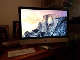 Apple iMac 27in 2.7ghz 12GB ram (upgraded) Mid 2011