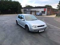 2004 Volkswagen Golf 1.4 5 door 12 months mot/3 months warranty