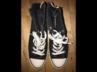 Ladies Converse High Tops, size 7