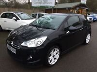 Citroen DS3 1.6 HDi DStyle 3dr (black) 2010