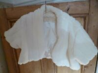 "Quality Faux Fur Jacket by ""Debut"" at Debenhams M/L - Shipley"