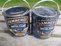 HAMMERITE direct to rust metal paint. Tin and a half. BARGAIN £15