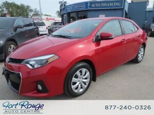 2015 Toyota Corolla S- LOW KMS/HEATED SEATS/BLUETOTH
