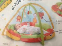 Baby gym / play mat from mothercare