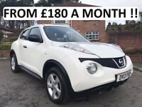 2013 NISSAN JUKE VISIA 1.5 DCI ** ONLY 37,000 MILES ** FINANCE AVAILABLE WITH NO DEPOSIT