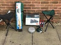 Complete camping equipment