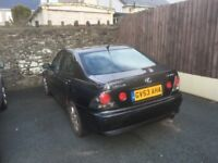 I'm selling my Lexus IS 200 with 1 years MOT and very low miles for year.