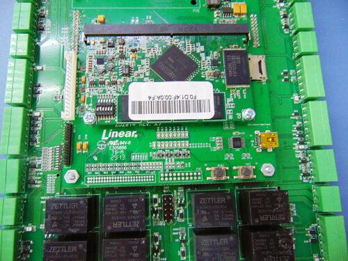 Linear ACM4D, eMerge Elite-36 Systems 4-Door Access Control Card/Module!