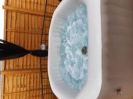 Intex octagon 4 person inflatable hot tub