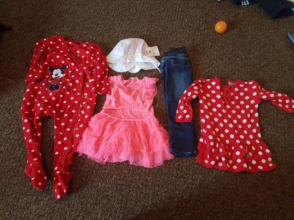 Baby girl clothes 12 - 18 months