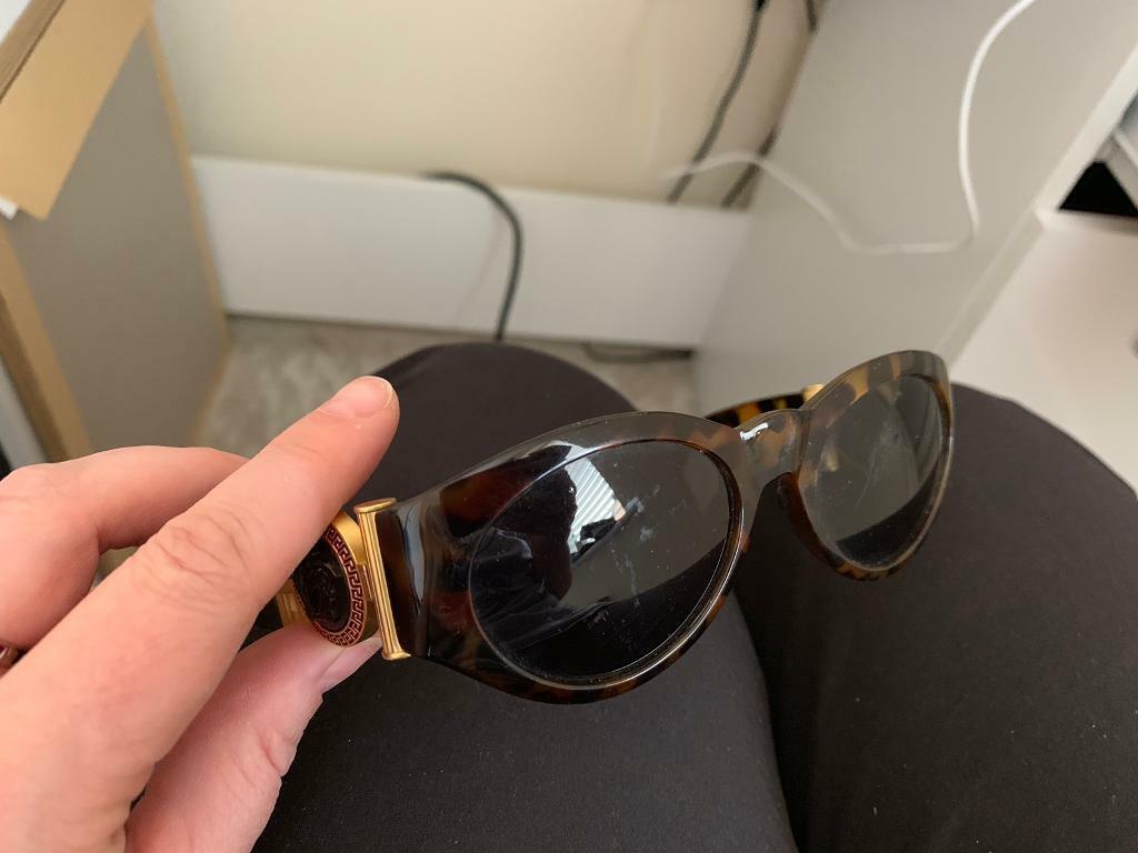 68ce1ab31e Rare Vintage Gianni Versace Sunglasses