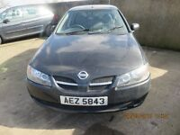 2004 NISSAN ALMERA, 1.5 PETROL, BREAKING PARTS ONLY, POSTAGE AVAILABLE NATIONWIDE