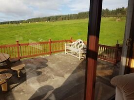 House for rent in beautiful farmland along a drive 1 mile from the A9 near Trentham Dornoch