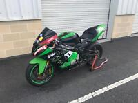 Kawasaki 636 - track bike fully loaded - 600 , gsxr