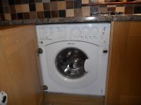 Hotpoint Fully Integrated washer dryer BHWD149