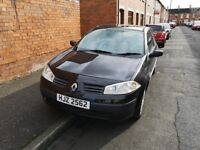 2004 Renault Megane, great runner, cheap seller. Great first car or run around not ford vw vauxhaul